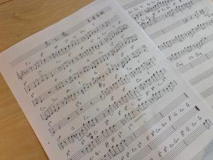 米津玄師「馬と鹿」耳コピで楽譜を書きました